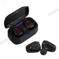 Sweatproof V5.0 Earbuds TWS Wireless Earphones In-Ear Stereo Headset For Samsung