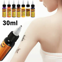 30ML Tattoo Ink Monochrome Tattoo Pigment Beauty Tatoo Makeup for Body Art Paint