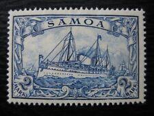 SAMOA GERMAN COLONY Mi. #17 mint Kaiser Yacht stamp!
