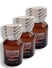 Brown Bottle Nail Polish Remover 10ml 3-PACK SPECIAL