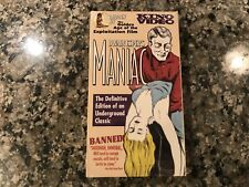 Maniac New Sealed Vhs! 1934 Thriller! (See) The Black Cat & Tales Of Terror