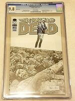 Walking Dead #100 Adlard 1:200 Sketch Variant CGC 9.8 NM/MT Image 2012 1st Negan
