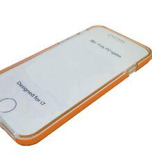 FUNDA DOBLE CARA Iphone 6 6S NARANJA GEL TPU 360 TAPA PROTECTOR PANTALLA COQUE