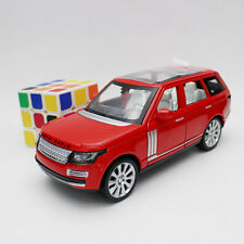 Red 1:24 Land Rover Range Rover toy Alloy Diecast Car Model Gift Sound & Light