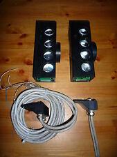 Visolux LS500 BusCell Coppia trasmettitori ricevitori ottici x dati L2-Bus S5
