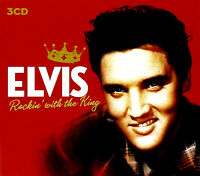 ELVIS PRESLEY ~ ROCKIN' WITH THE KING NEW SEALED 3 CD SET INC CHRISTMAS DISC. #