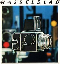 HASSELBLAD DELUXE CAMERA BROCHURE -500C/M-SWC-500EL/M -from 1970--HASSELBLAD
