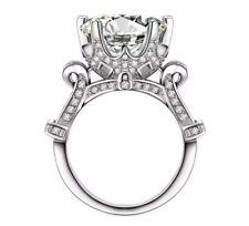 8 Carat Lab Diamond Ring 925 Silver