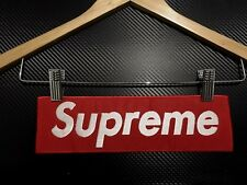 Embroidered Patch Iron Sew JUMBO BIG SIZE SUPREME skateboard SPORTS RED EXTREME