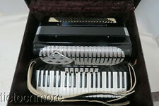 VINTAGE EXCELSIOR? STAMFORD CONN 120 BUTTON 41 KEY ACCORDION SERIAL #5002 & CASE
