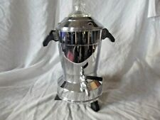 More details for vintage art deco electric chrome coffee percolator  ex movie set prop
