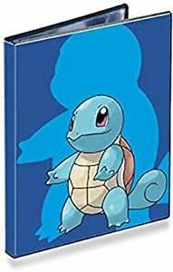 Pokemon  Sammelalbum Karten 4 Pocket Portfolio Schiggy Sammelheft Ordner Schutz