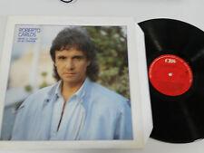 """ROBERTO CARLOS DESDE EL FONDO DE MI CORAZON LP VINYL VINILO 12"""" 1986 CBS VG/VG+"""