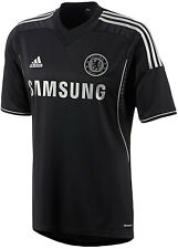 FW13 ADIDAS CHELSEA MAILLOT NEGRO TG L CAMISETA CFC THIRD SHIRT JERSEY Z27634