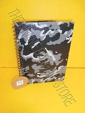 Pottery Barn Teen Black Camo Notebook Sketch Art Book Pad Paper No Lines