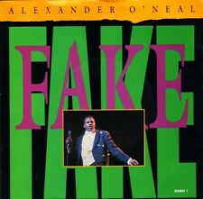 "ALEXANDER O'NEAL fake/instrumental 650891 7 uk tabu 1987 7"" PS EX/EX"