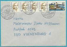 """Bund Brief aus 1992 MiNr.1583 x!!! (Koblenz) """"Vienenburg"""" selten! top Stempel!"""