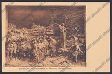 BRESCIA CITTÀ 161 MONUMENTO ad ARNALDO DA BRESCIA Cartolina 1935