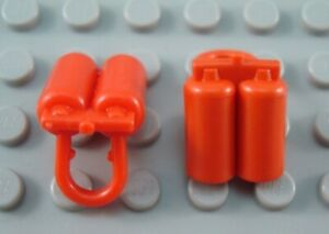 LEGO Lot of 2 Red Space Minifig Airtank Accessories