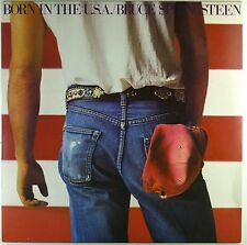 "12"" LP-BRUCE SPRINGSTEEN-BORN IN THE U.S.A. - a4476-Slavati & cleaned"