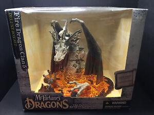 McFarlane's Dragons Fire Dragon Box Set Clan 5 Fall Of The Dragon Kingdom