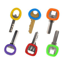 32x Candy Color Hollow Silicone Key Cap Covers Topper Keyring Circle Holder