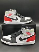 Nike Air Jordan 1 Mid SE Union Red Spruce Mint BQ6931-100 Men's Sizes