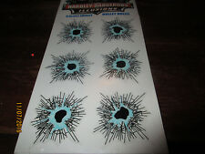 Hardley Dangerous Illusions Bullet Holes For Glass-two-6 packs