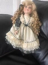 Beautiful Vintage Alberon Porcelain/China  Doll 16 Inches -GAYLE