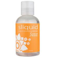 1 Sliquid SIZZLE 4.2 oz. natural intimate lubricant personal stimulating