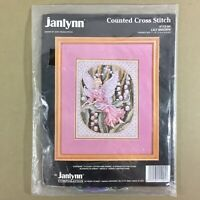 Lily Maiden counted cross stitch kit Teresa Wentzler fairy Janlynn new sealed