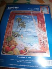 Janlynn TROPICAL VACATION WINDOW  Counted Cross Stitch Kit 11