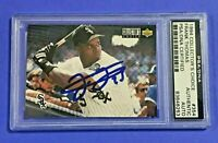 Frank Thomas 1994 Collector's Choice #354 White Sox - AUTO - HOF - PSA