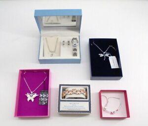 Job Lot of Stunning Boxed Jewellery - Necklaces + Bracelets +Watch . ABIB271JA