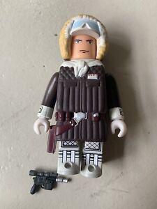 Han Solo Hoth Gear Star Wars 100% Medicom Toy Kubrick Series 4 2005 Loose Figure