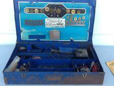 Vintage A C Gilbert  10.5 Prewar Erector Set.   Rare Train Set with Orig Book