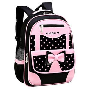 2tlg Mädchen Schulranzen Schulrucksack Kinder Rucksack Tasche Backpack -DHL-