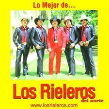 Los Rieleros de Norte Lo Mejor CD New Nuevo Sealed