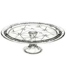 Italy/Venetian Clear Crystal & Cut Glass Bowls