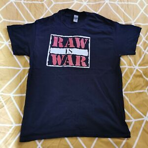 Raw Is War T Shirt Large