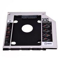 SATA segundo Adaptador Caddy HDD Dispositivo disco duro para ThinkPad T400 TU1H4