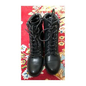 GBG (Guess) NWT vegan leather combat boots, 7.5