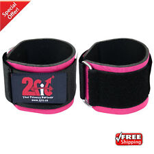 2Fit WeightLifting Wrist Support Straps Neoprene Training Gym Fitness Bandage PN