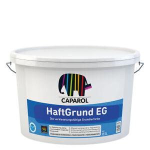 (5,60€/ L)Caparol Haftgrund EG 12,5L weiss ,für Dispersions- u.D.-Silikatfarben