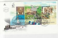 israel 1998 illustrated stamps sheet cover ref 19894