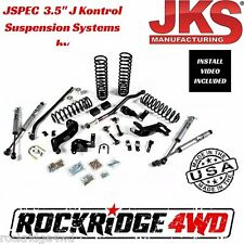 "Jspec 3.5"" J Kontrol Suspension Lift System 2007-2017 Jeep Wrangler JK 2 Door"