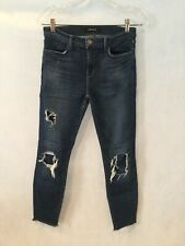 J. Brand Cropped Skinny Jeans Dark Wash 28 x 27 (uncuffed) Great Condition!!