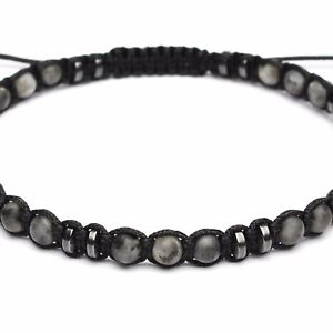 Bracelet Homme STYLE Tibétain Mala perles Pierre de gemmes fait main 1000ola