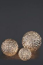 NEXT GLAMOUR TABLE LAMP ORBS SET OF 3