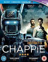 Chappie [Blu-ray] [Region Free] [DVD][Region 2]
